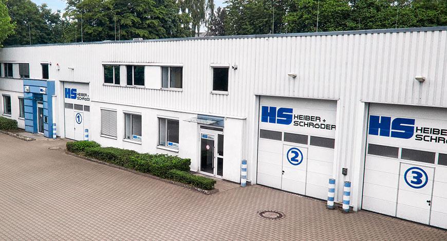 Heiber + Schröder Headquarter Front